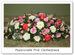 Passionate Pink Centerpiece